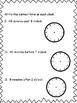 Elapsed Time Quiz