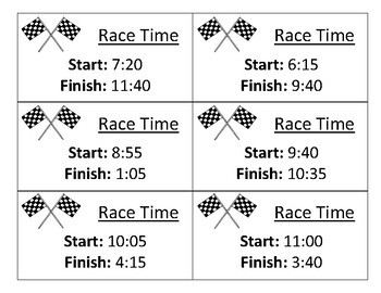 Elapsed Time Race