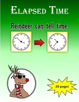 Elapsed Time:  Reindeer can tell time