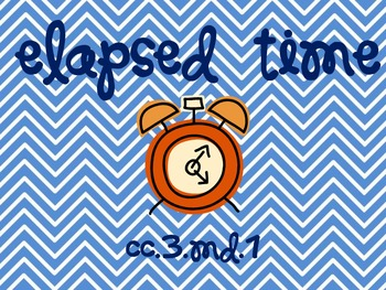 Elapsed Time Resources & Task Cards