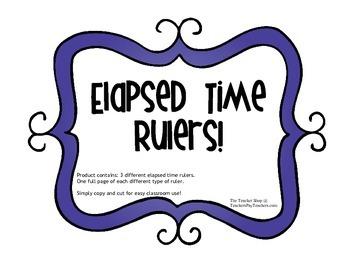 Elapsed Time Rulers