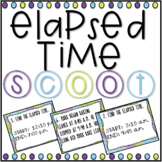 Elapsed Time SCOOT! Game, Task Cards or Assessment