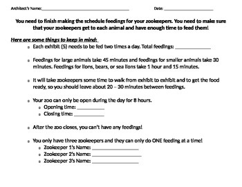 Elapsed Time: Schedule your Zookeeper's Feedings