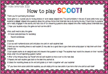 Elapsed Time Scoot Game (Super simple, fun and easy!)