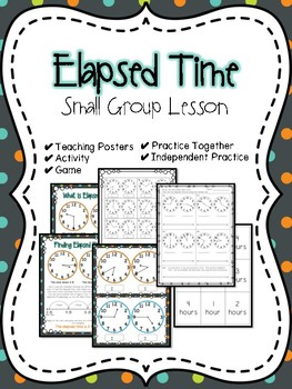 Elapsed Time Small Group Lesson