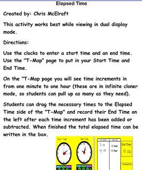 Elapsed Time SmartBoard
