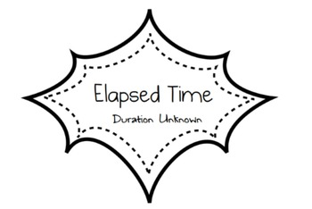 Elapsed Time - Smart Board Lesson (Duration) 3.7C/4.8C