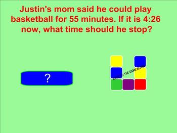 Elapsed Time Smartboard Game