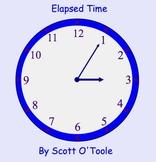 Elapsed Time Smartboard Math Lesson