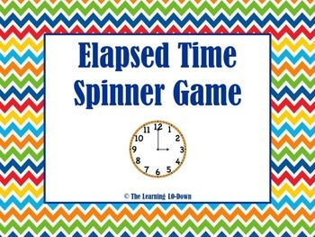 Elapsed Time Spinner Game