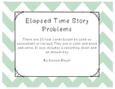 Elapsed Time Story Problems