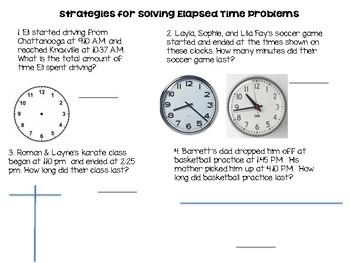 Elapsed Time Strategies