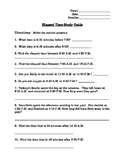 Elapsed Time Study Guide