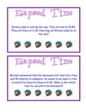 Elapsed Time Task Card C 3rd grade CCGPS