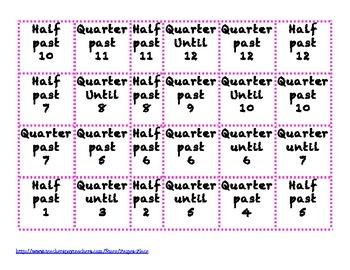3rd Grade Elapsed Time Task Cards