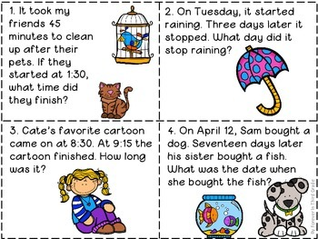 Elapsed Time Cards