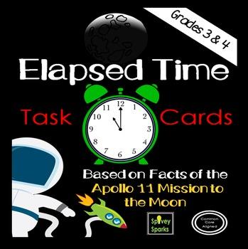 Elapsed Time Task Cards {Apollo 11}
