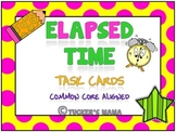 Elapsed Time Task Cards 3rd Grade