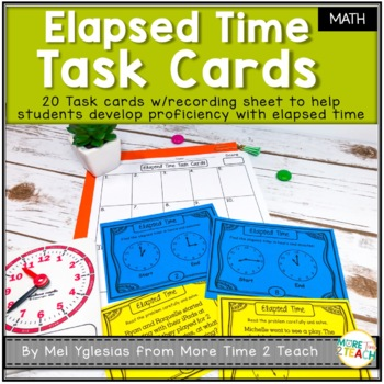 I Have Who Has Elapsed Time Worksheets & Teaching Resources