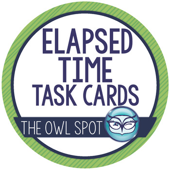 Elapsed Time Task Cards: Penguins!