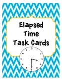 Elapsed Time Task Cards or Scoot Activity