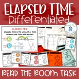 Elapsed Time Math Activity Task Cards