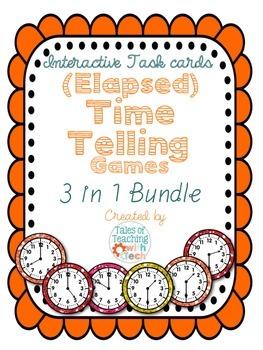 (Elapsed) Time Telling Game Bundle