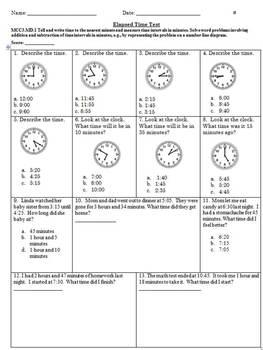 Elapsed Time Test