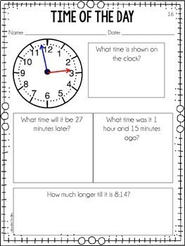 Elapsed Time {Time of the Day}