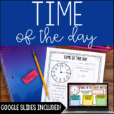 Elapsed Time {Time of the Day} with Digital Google Slides