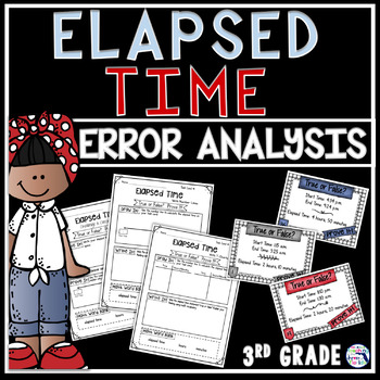 Elapsed Time Error Analysis Task Cards