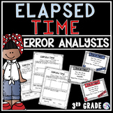 Elapsed Time Task Cards - Error Analysis