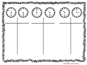 Elapsed Time Using T-Chart Method