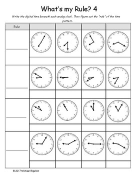 Elapsed Time: What's my Rule?