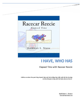 Elapsed Time With Racecar Reecie