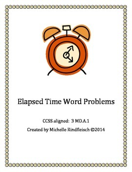 Elapsed Time Word Problem Worksheets 3rd grade