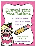 Elapsed Time Word Problems - 3.MD.1