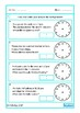 Elapsed Time Word Problems, Autism Life Skills, Special Education