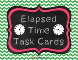 Elapsed Time Word Problems {Task Cards}