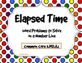 Elapsed Time: Word Problems to Solve on a Number LIne
