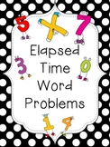 Elapsed Time Word Problems with Clocks
