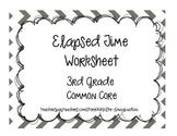 Elapsed Time Worksheet
