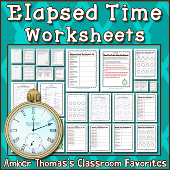 Elapsed time worksheets by amber thomas teachers pay teachers ibookread Download
