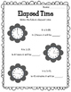 Elapsed Time Worksheets.  Future Time.  Word Problems. Clocks