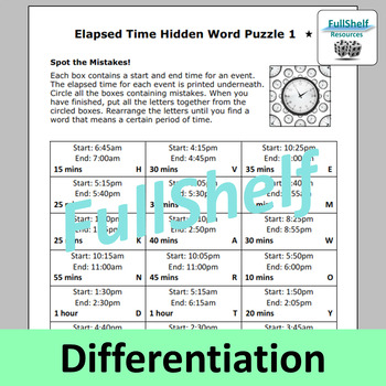 Elapsed Time Review