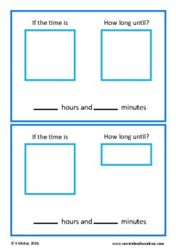 Elapsed Time, Life Skills, Task Cards, Autism, Special Education, Math
