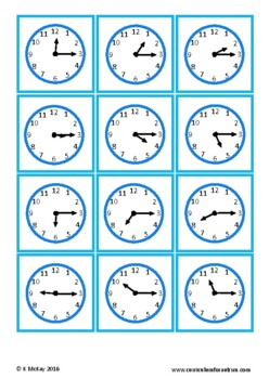 Elapsed Time, Life Skills Math, Autism, Special Education