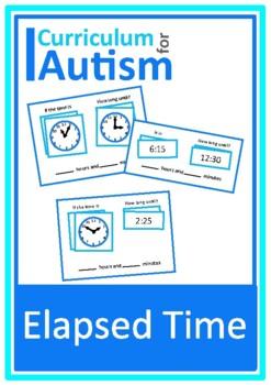 Elapsed Time, Life Skills, Task Cards, Autism, Special Edu
