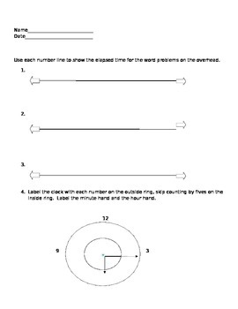 Elapsed Time and Reading Time Test