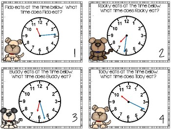 Elapsed Time and Telling Time to the Minute Project Based Learning Pet Shop